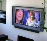 French Friends humor: Flat Screen Front