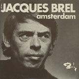 Jacques Brel Amsterdam album cover