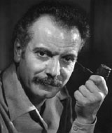 French singer Georges Brassens