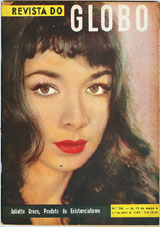 Juliette Greco magazine cover