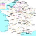 History of rail in France