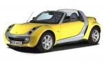 French car rental: Smart Roadster