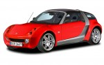 French car rental: Smart Roadster Coupe